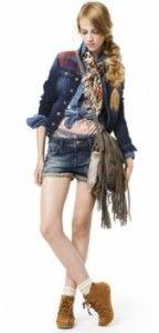 модна джинсова куртка