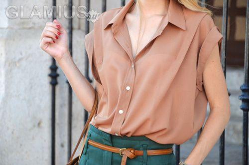 Модні блузки 2012