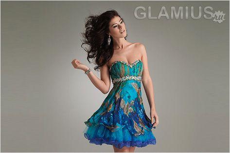 Модні коктейльні сукні 2013.