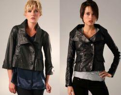 Модні шкіряні куртки 2011