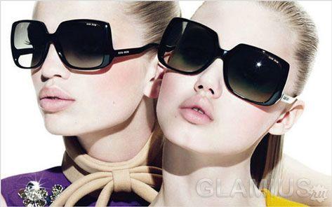 Модні окуляри літо 2012