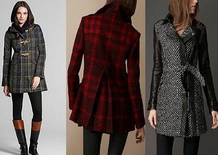 модні пальта 2012