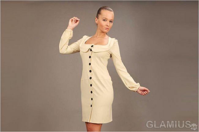 Модні сукні з трикотажу 2014