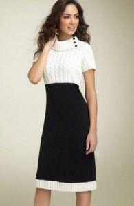 Модні трикотажні сукні. Що і як носити в цьому сезоні