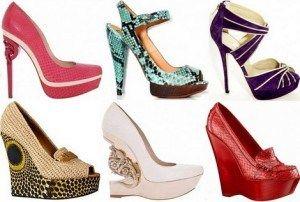 Модні туфлі 2012