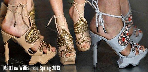 модні туфлі весна-літо 2013