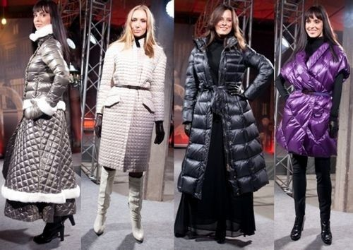 Модні пуховики 2013