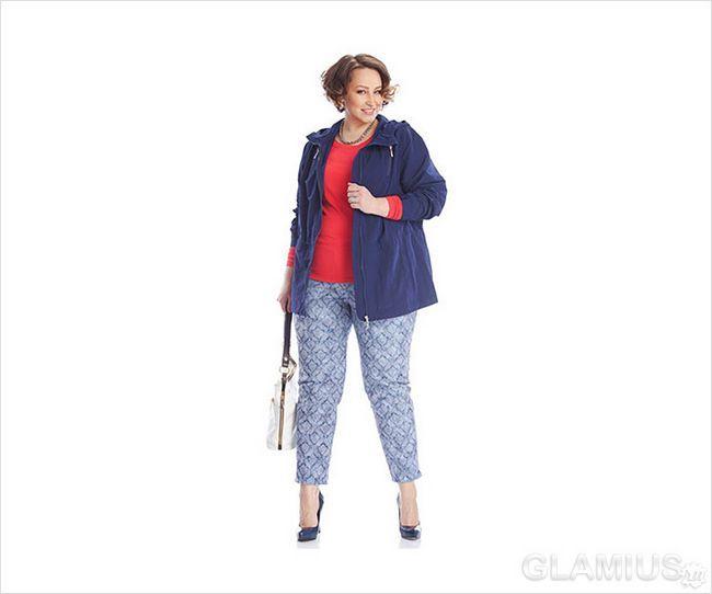Укорочені брюки для повних
