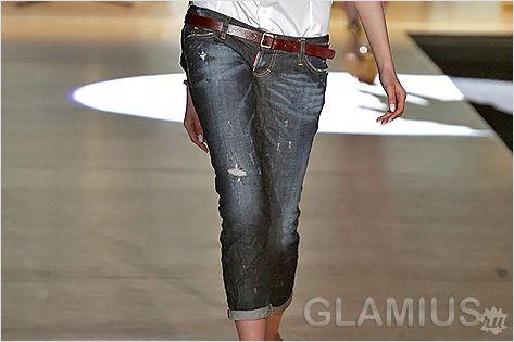 Модні жіночі джинси 2013