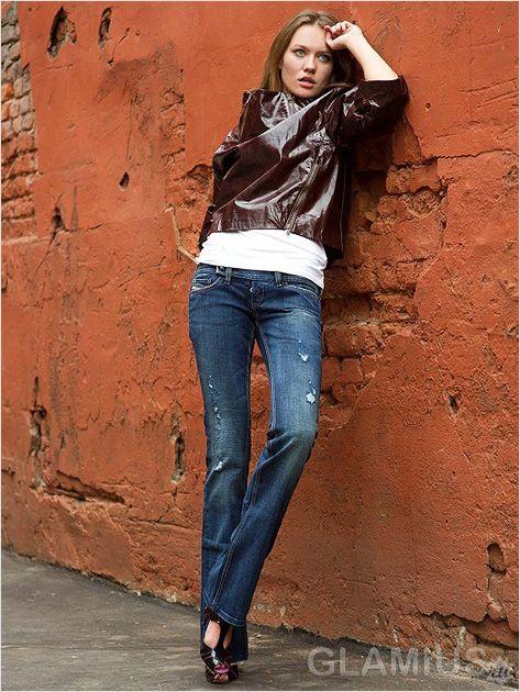 Модні сині джинси 2013