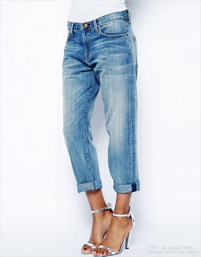 Потерті джинси