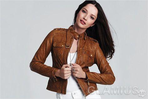 Модні жіночі куртки 2015