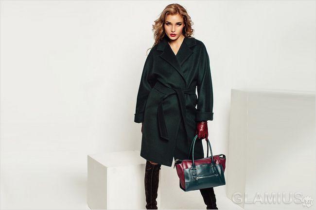 Модні жіночі пальта 2016