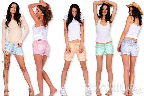 Модні жіночі шорти 2012