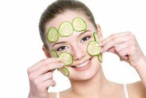 Огіркові маски для обличчя - зброя № 1 від прищів і інших проблем