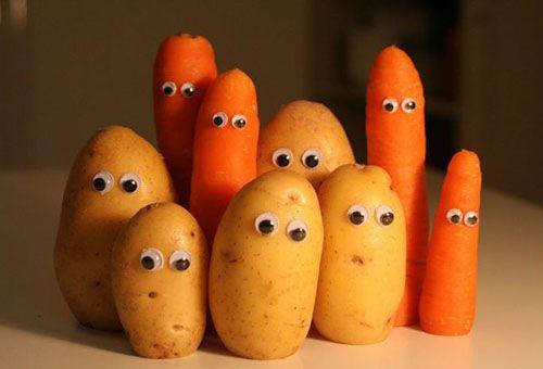 Картоплю і моркву