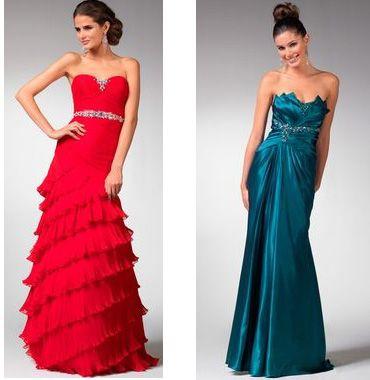 сукні на випускний 2011