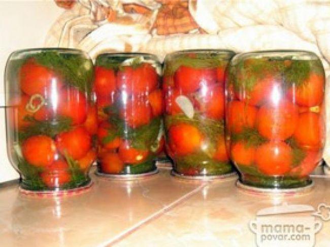 Помідори мариновані гострі рецепт приготування