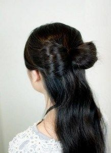 Як зробити бант з волосся