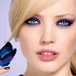 Покрокова інструкція створення вечірнього макіяжу для блакитних очей з фото