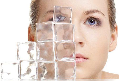 Правила використання косметичного льоду для шкіри обличчя