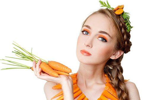 При яких станах шкіри обличчя ефективна морквяна маска?