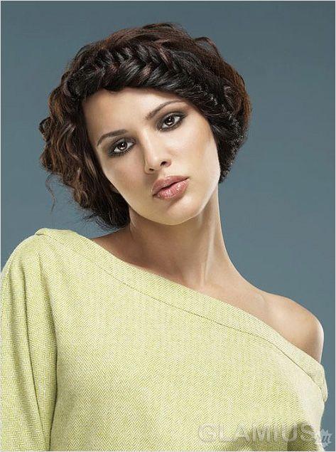 Плетене обрамлення особи