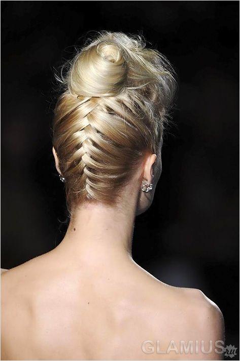 Французька коса в зворотну сторону