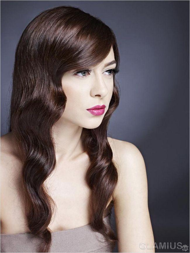 М`які хвилі на довгому волоссі