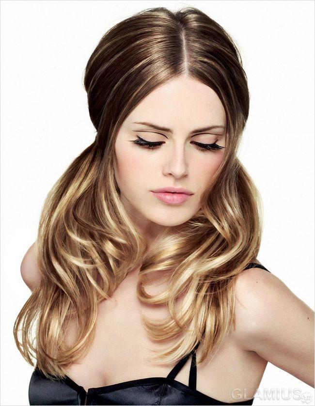Волосся, схоплені шпильками