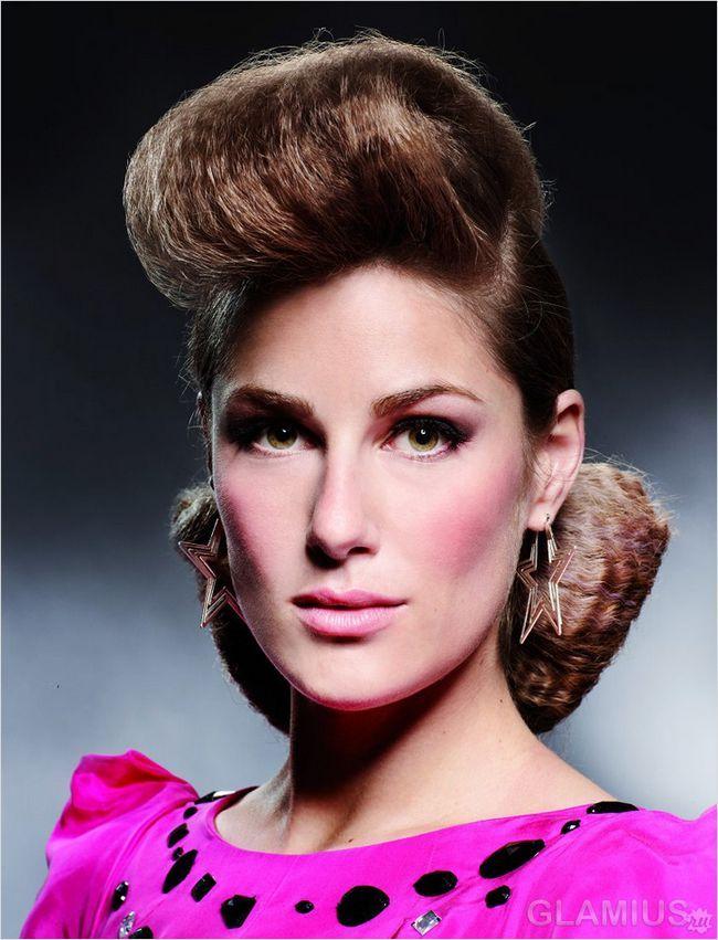 Зачіска в стилі диско