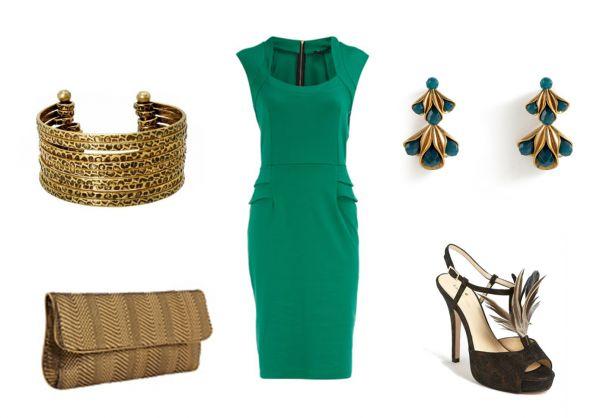 З чим носити смарагдове плаття? Як купити смарагдове плаття в інтернет магазині аліекспресс і ламода?