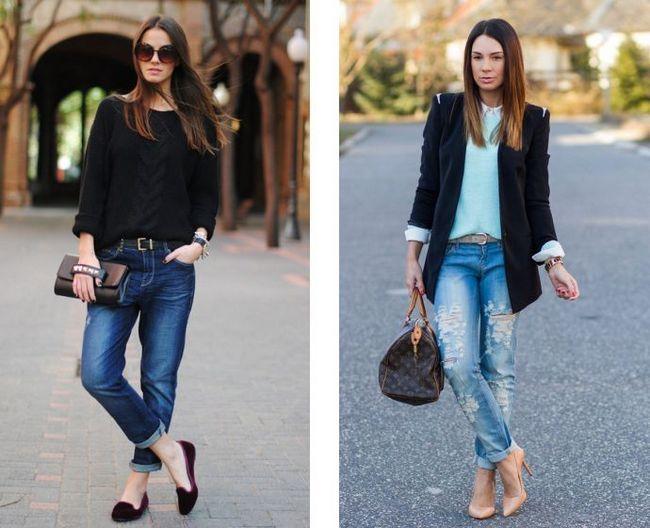 У тренді рвані джинси і бойфренди