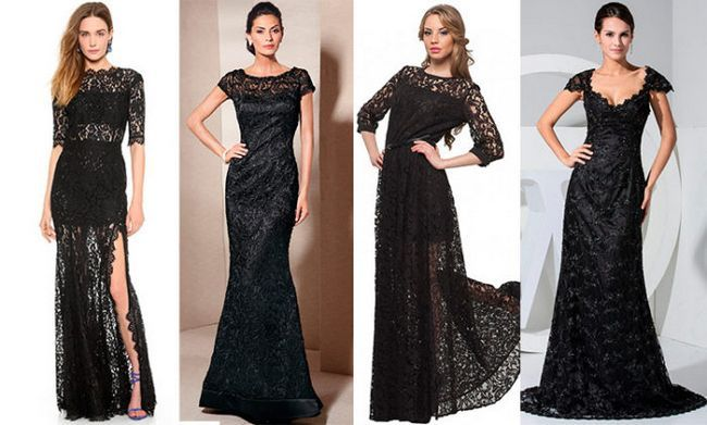 Шикарне чорне плаття