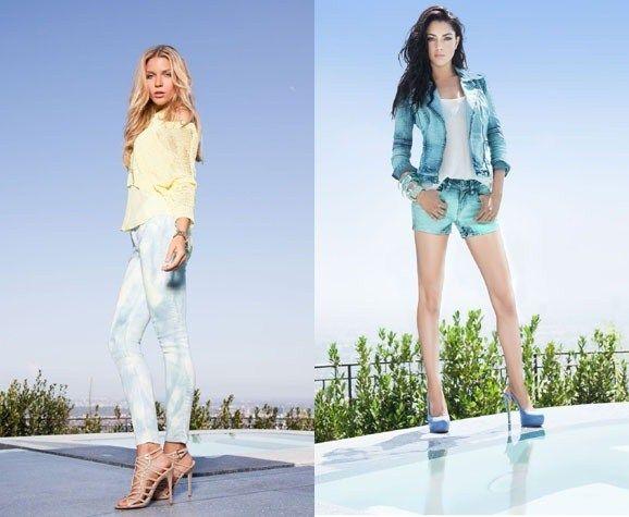 джинсова мода весна-літо 2013