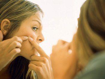 Висип на обличчі як ознака вагітності