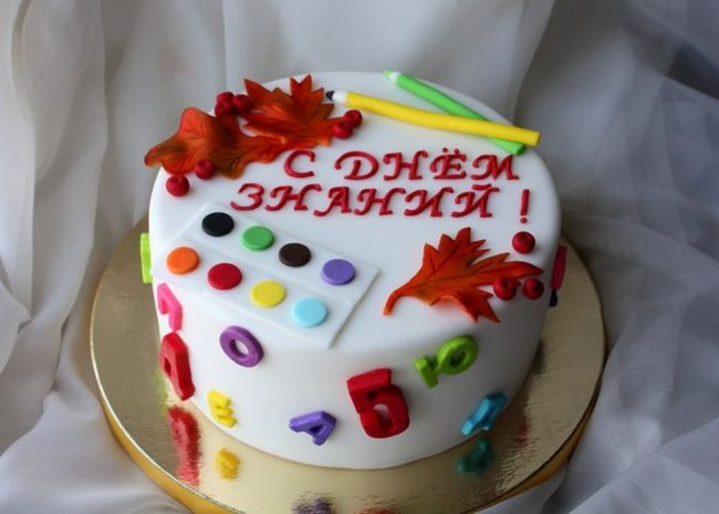 Торт на 1 вересня. Ідеї   торта на 1 вересня