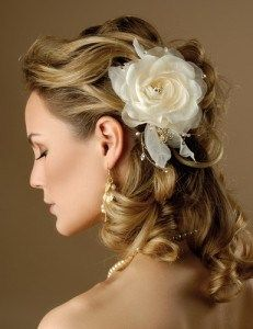Романтична зачіска нареченої