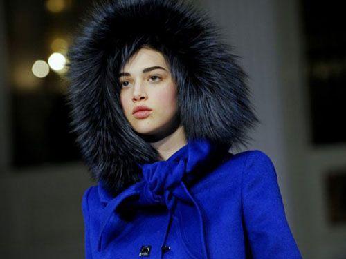 Хутряні шапки зима 2015