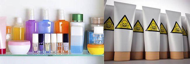 Шкідливі речовини, що входять до складу косметичних засобів