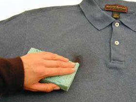 Виведення плям з одягу народні засоби
