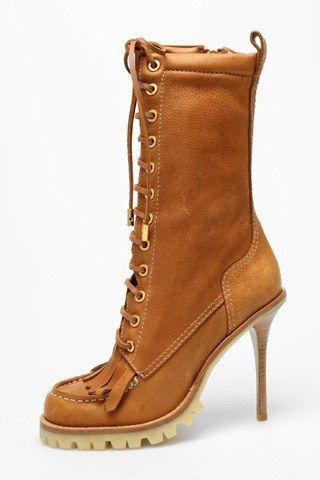 Взуття на шнурівці зима 2011