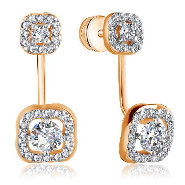 Золоті та срібні сережки: мода 2017. Які сережки в моді в 2017 році: тренди